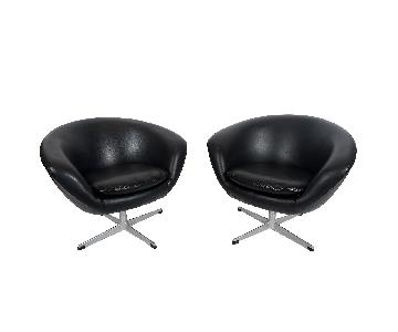 Sweden Danish Modern Overman AB Pod Chairs