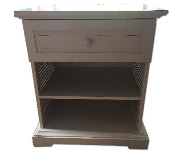 Pier 1 Bed Side Table w/ Drawer