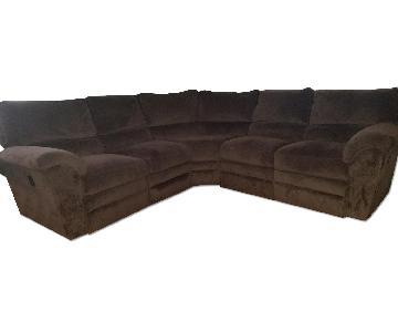 La-Z-Boy 3 Piece Reclining Sectional Sofa