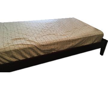 Sealey Twin Size Wooden Bed Frame
