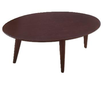 Urban Outfitters Mid Century Modern Style Coffee Table