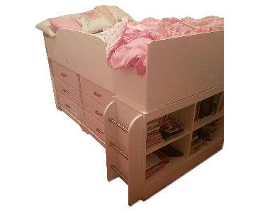 Ashley 's Lulu Twin Loft Bed