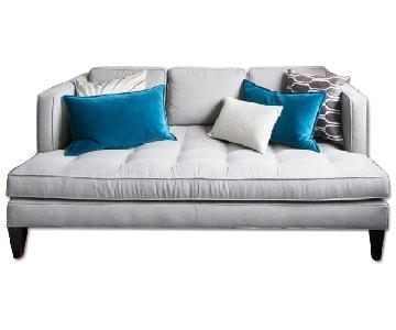 Room & Board Grey Hutton Sofa