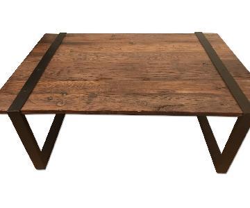 Lillian August Reclaimed Elm Wood Table
