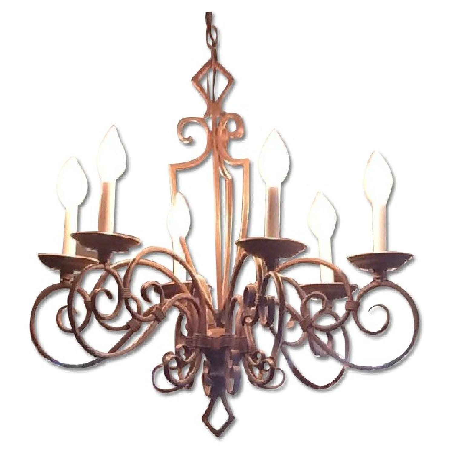 Traditional Style Candlelight Chandelier