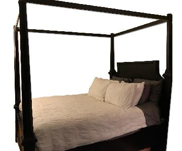 Ashley's Four-Post Queen Canopy Bed