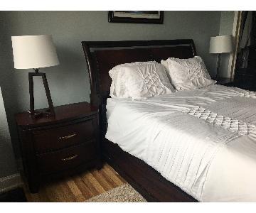 Legacy Classic Mahogany 5-Piece Bedroom Set