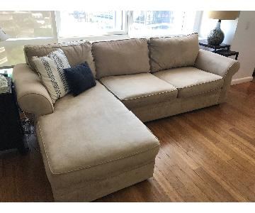 Pottery Barn Sectional Sofa w/ Chaise
