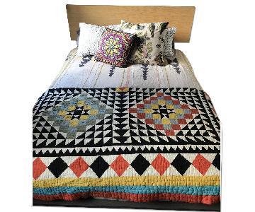 CB2 Queen Bed Frame