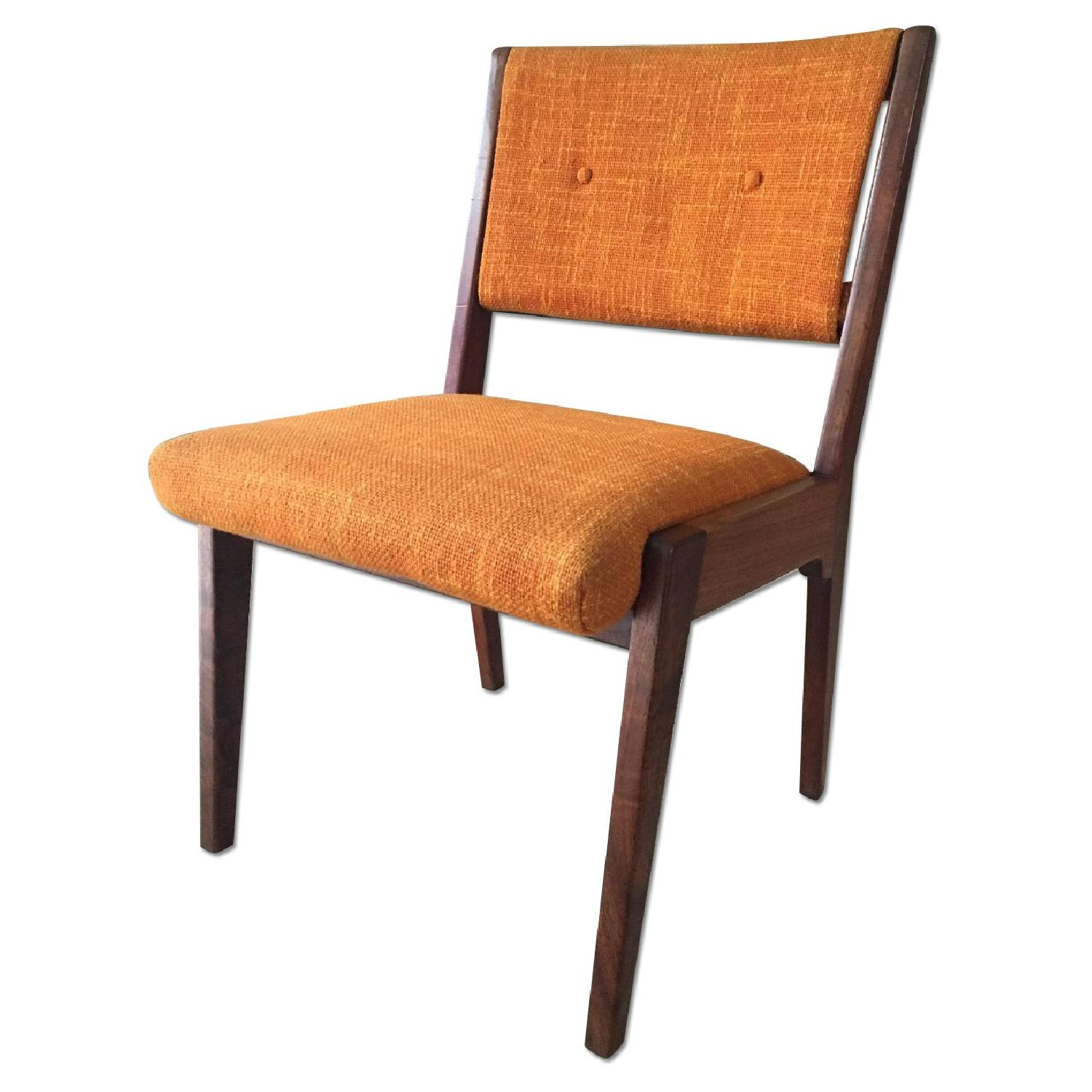 Jens Risom Mid Century Side Chair ...