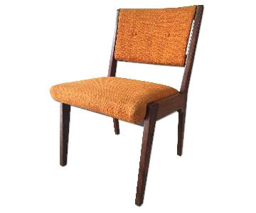 Jens Risom Mid Century Side Chair