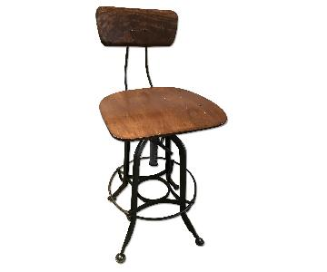 Restoration Hardware Vintage Reproduced Toledo Bar Stool/Dining Chair