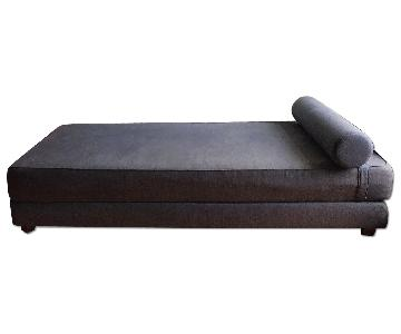 CB2 Lubi Graphite Sleeper Daybed