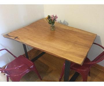 Live Edge NYC Wood Table