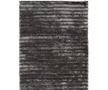 Safavieh 3D Shag Silver Polyester Rug