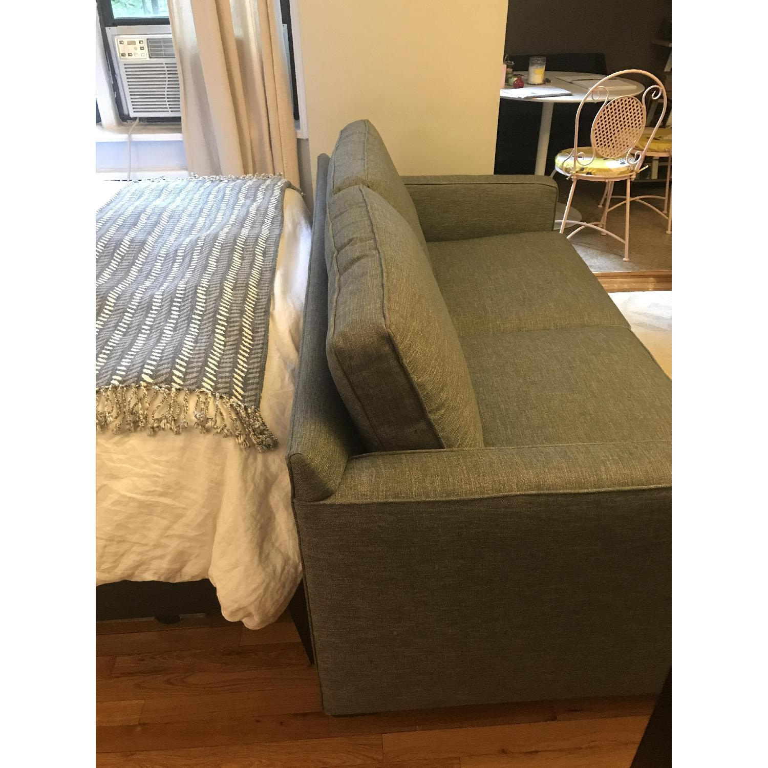 Crate & Barrel Davis Apartment Sofa in Ash AptDeco