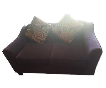 Bob's 2 Seater Sofa w/ 2 Throw Pillows