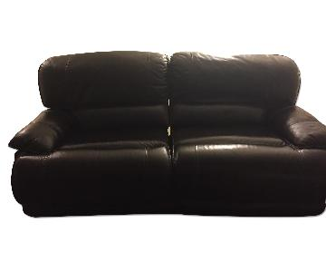 Maddux Power Leather Reclining Sofa