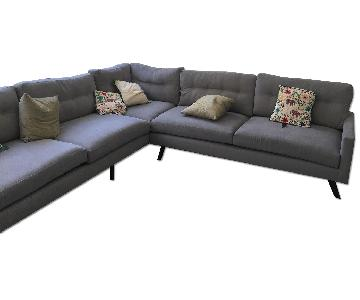 Thrive Furniture 3 Piece L Shape Sectional Sofa