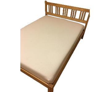 Full Sized Wooden Bed Frame