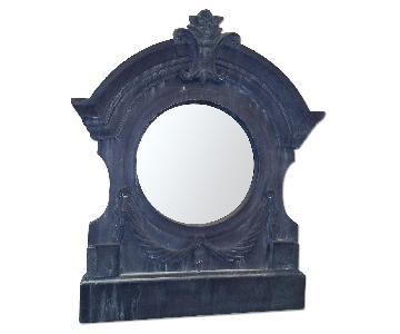 Aidan Gray Home Antique Reproduction Metal Framed Mirror