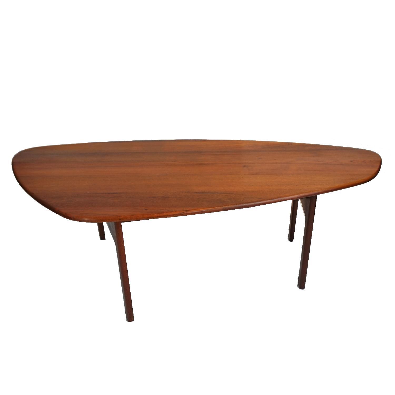Danish Vintage Rosewood Coffee Table Aptdeco