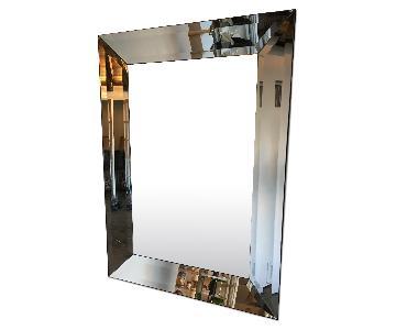 Pottery Barn Bevel Rectangular Mirror