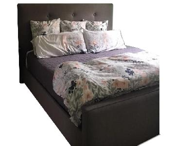 Ballard Custom Upholstered King Bed Frame