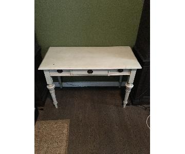 One Kings Lane White Desk