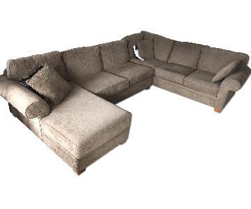 Macy's 3 Piece Sectional Sofa w/ Chaise