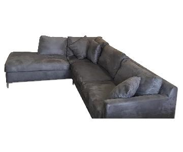 Raymour & Flanigan Sectional Sofa