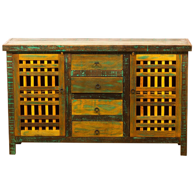 Eco-Friendly Reclaimed Wood Buffet/Sideboard
