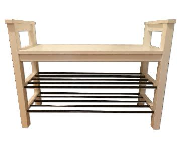 Ikea Hemnes Bench w/ Shoe Storage
