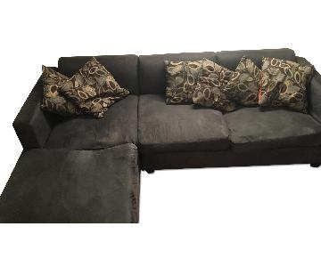 Simplistic Collection 3-Piece Sectional Sofa & 2 Ottomans