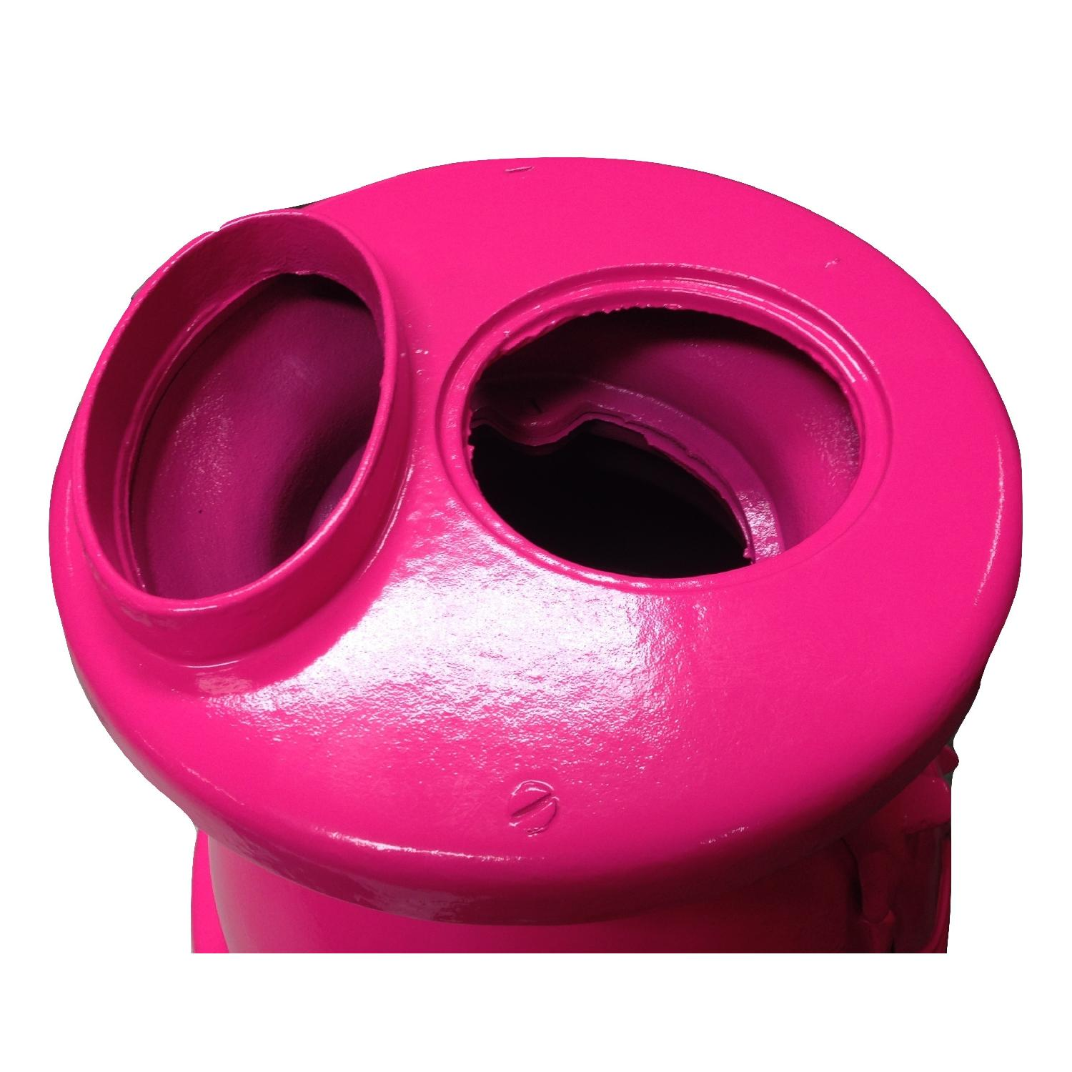 Hot Pink Pot Belly Stove-2