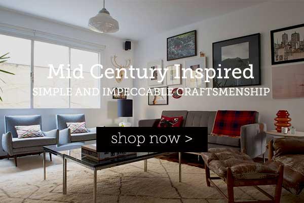 Mid-Century Inspired