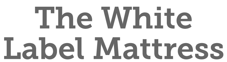the white label mattress logo